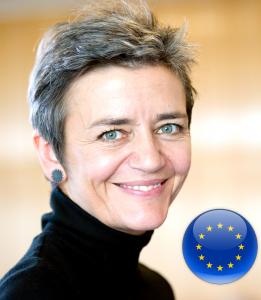 Margrethe Vestager EU Google Anti-Trust Commissioner