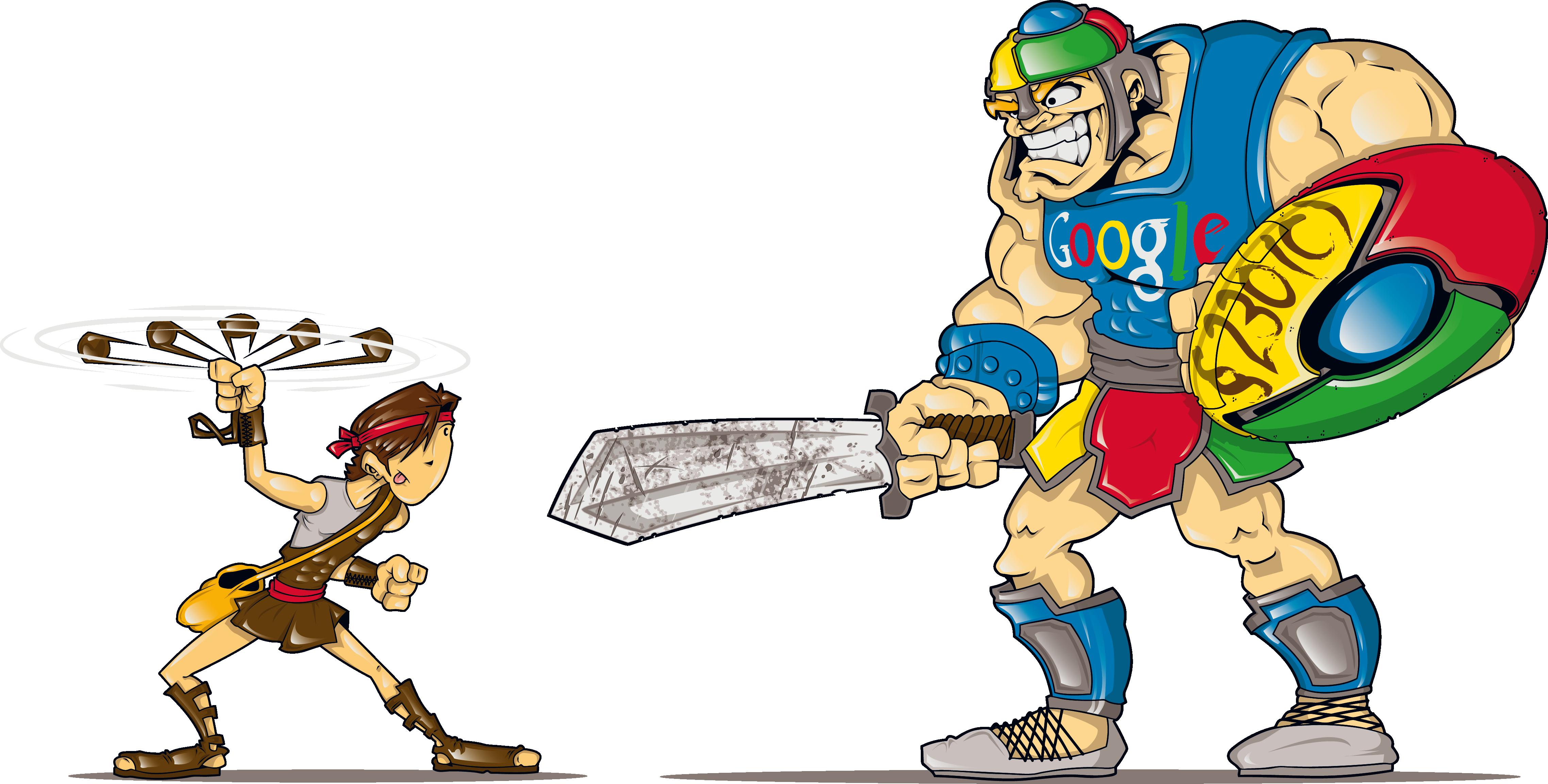 David vs Googliath